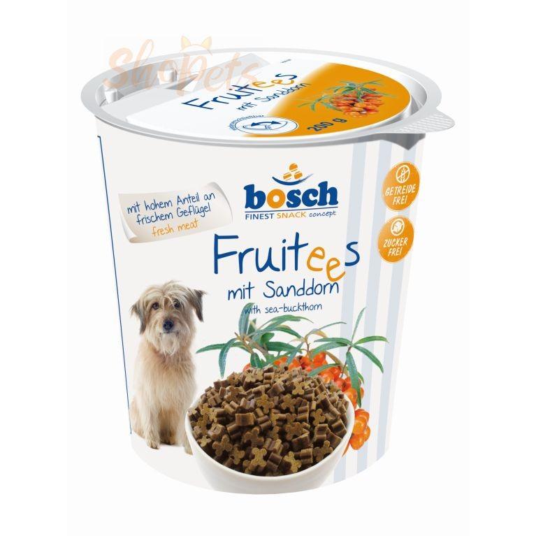 Лакомство для собак Bosch FRUITEES с облепихой 200 г