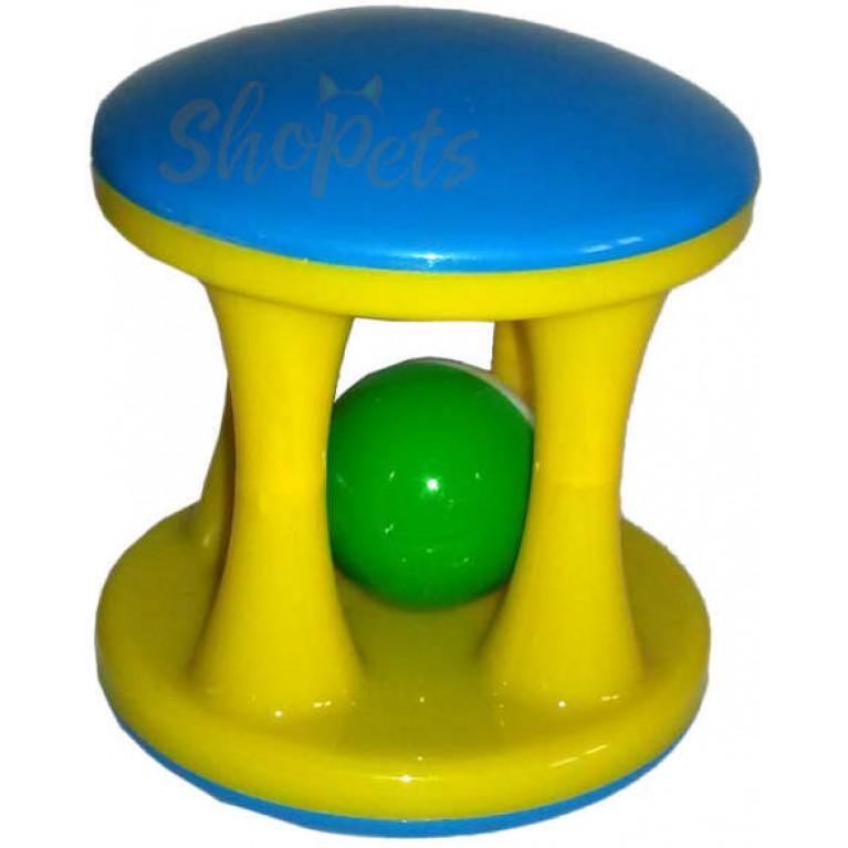 """Интерактивная игрушка """"Колоннада""""GoSi  9 см. звенящая без упаковки"""